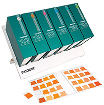 Pantone Textil Fashion + Home Cotton Swatch Library