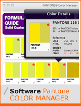 pantalla software pantone color manager - Pantone Color Manager